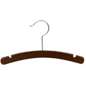 "Walnut 10"" Top Hanger"