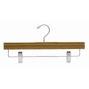 Earth Friendly Dark Bamboo So Secure Pant & Skirt Hanger