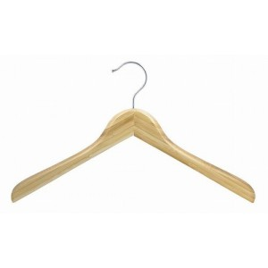 Earth Friendly Bamboo Curved Luxury Shirt/Coat Hanger