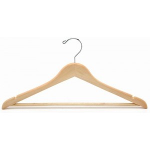 "20"" Big & Tall Space Saver Suit Hanger"