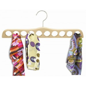 The Ultimate Wooden Scarf Hanger