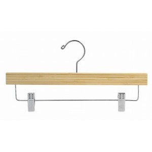 Earth Friendly Bamboo So Secure Pant & Skirt Hanger