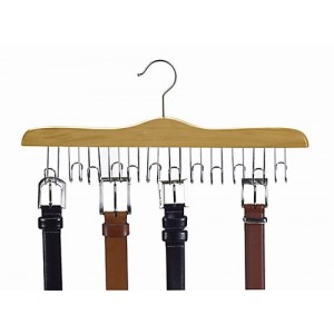 The Ultimate Wooden Belt Hanger