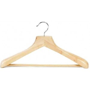 Ultimate Wide Suit Hanger w/ Vinyl Covered Pant Bar