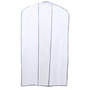 "36"" & 54"" Clear Vinyl Flap Garment Bags"