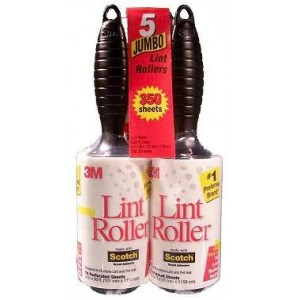 3M Brand 5 Pack Lint Rollers