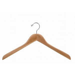"17"" Aromatic Red Cedar Curved Luxury Shirt Hanger"