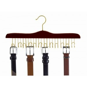 The Ultimate Walnut Wooden Belt Hanger